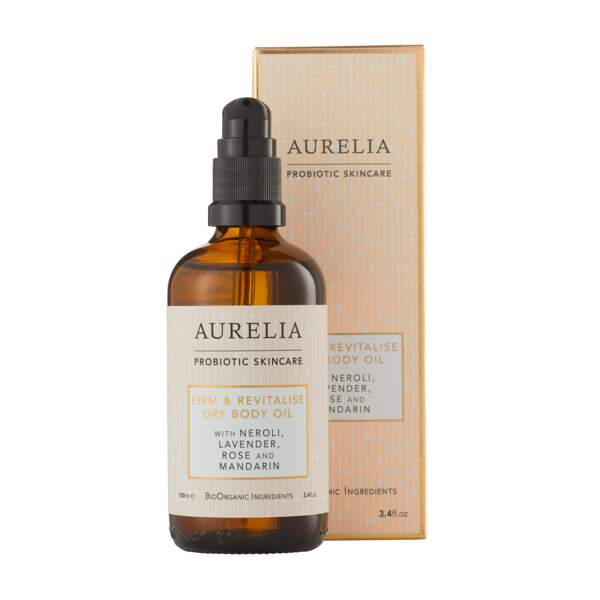 . Firm and Revitalise Dry Body Oil, Aurelia Probiotic, 65€