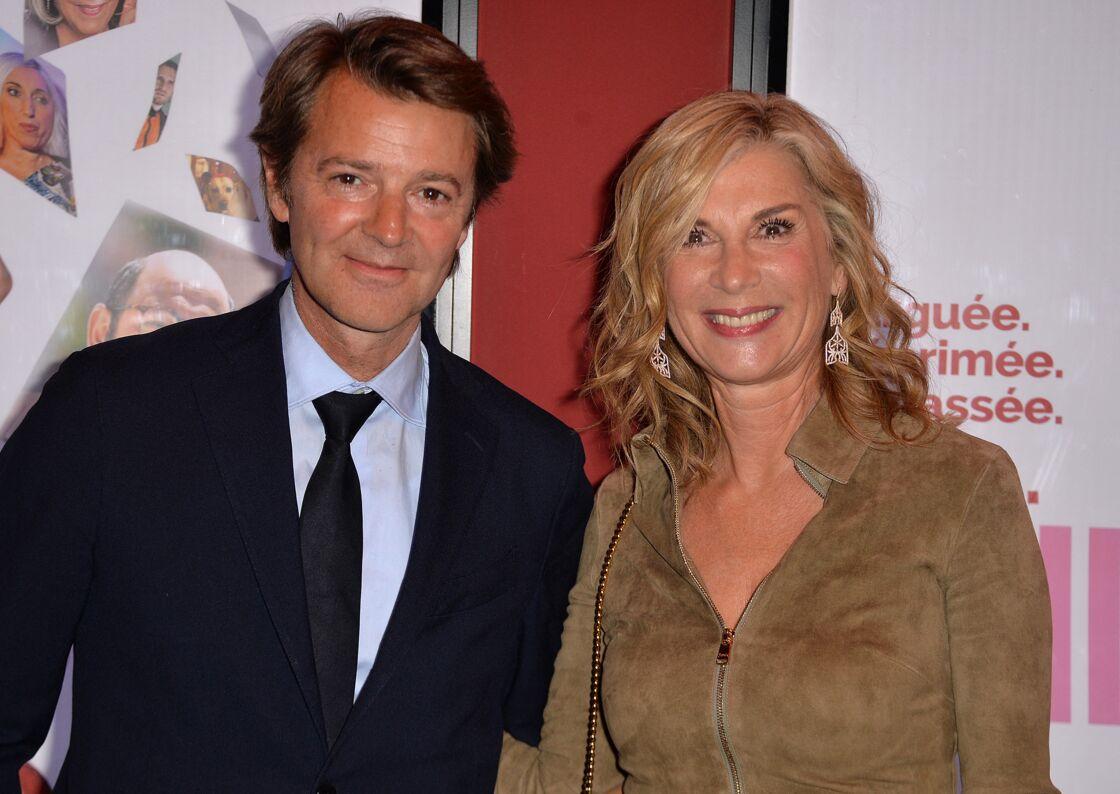 François Baroin et Michèle Laroque le 15 janvier 2018