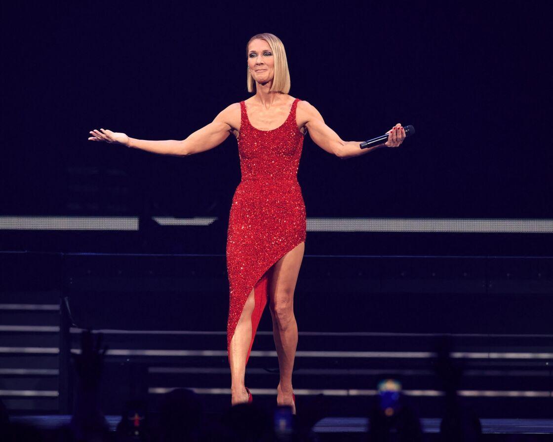 Céline Dion en concert à Miami le 17 janvier 2020