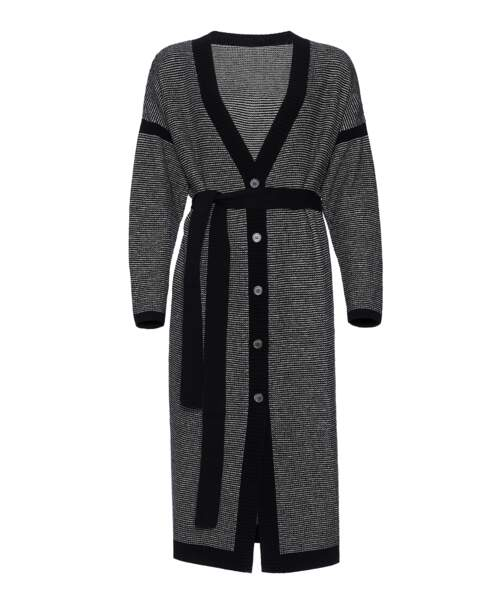 Cardigan long Gazette en laine et cachemire, 700 €