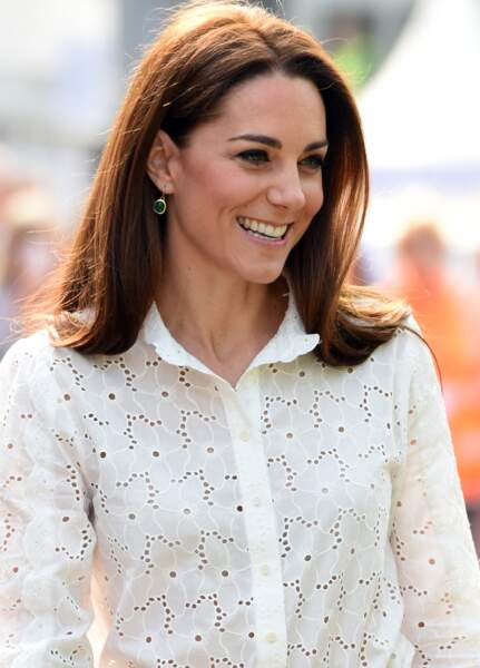 Kate Middleton, le carré long se fait mi-long