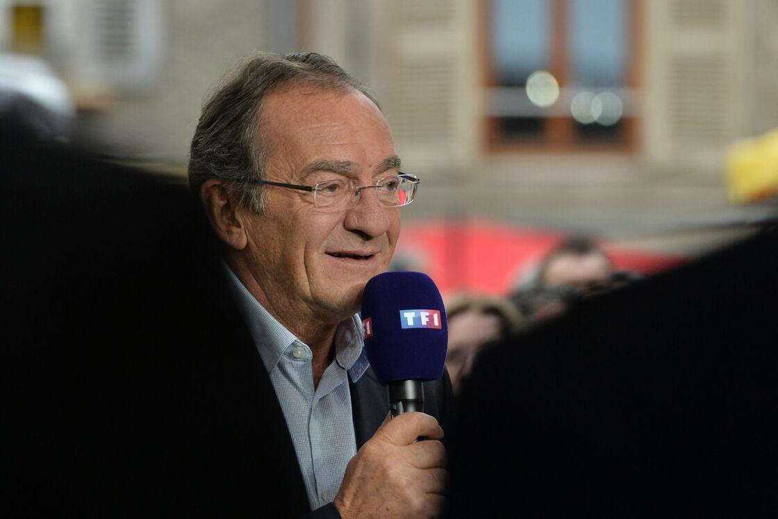 Jean-Pierre Pernaut lors de l'opération