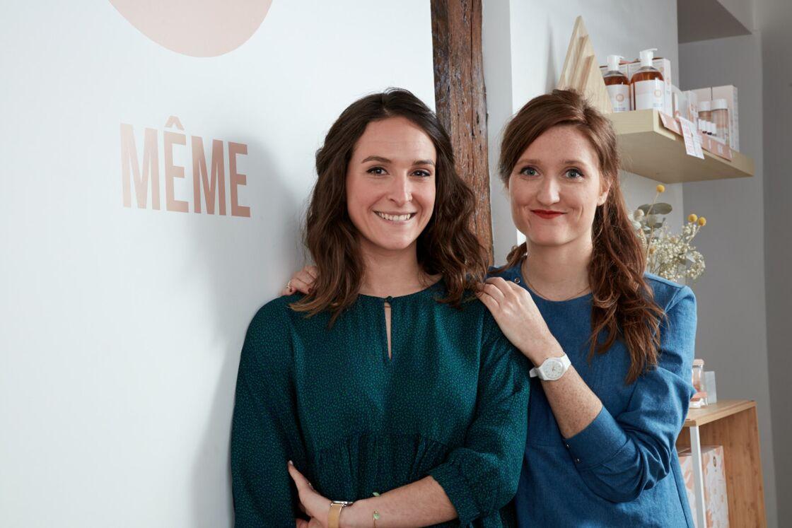 Judith Levy Keller (à gauche) et Juliette Couturier, fondatrices de Même.