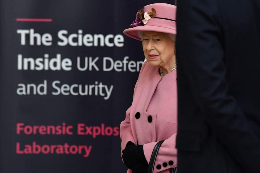 Ce jeudi 15 octobre, la reine Elizabeth II a fait une apparition publique