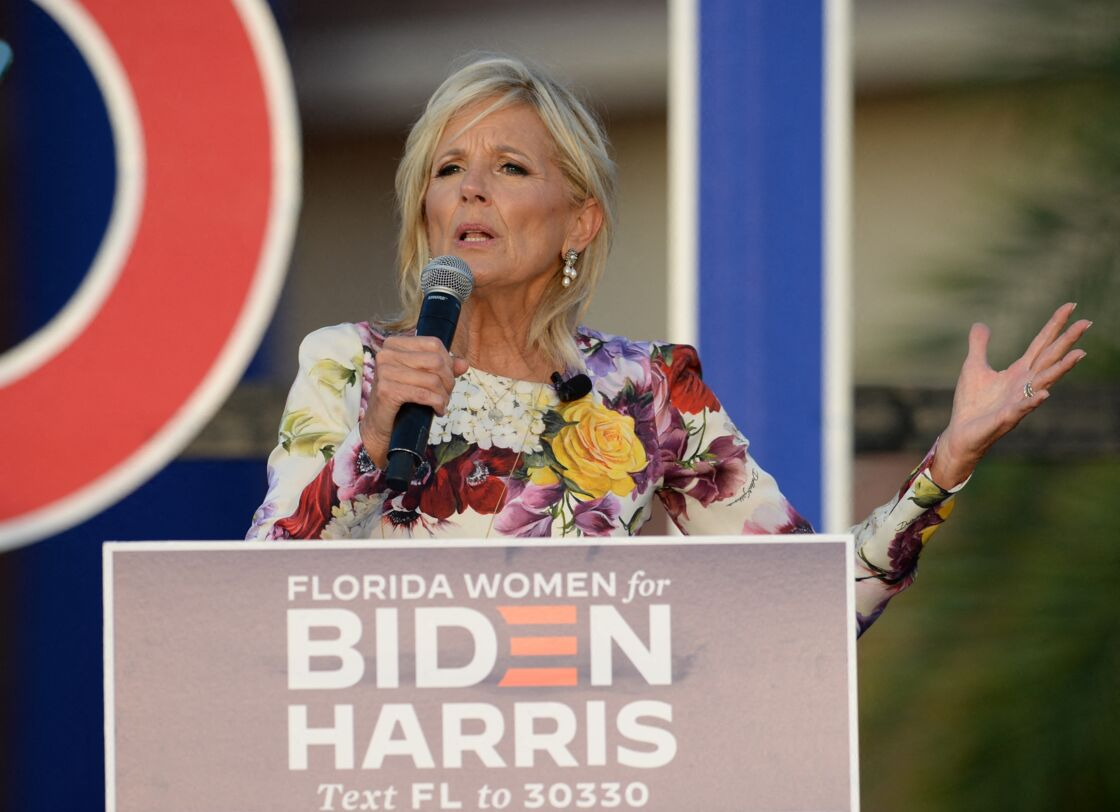 À 69 ans, Jill Biden est un soutien de poids pour son mari, candidat démocrate à l'élection présidentielle américaine face à Donald Trump