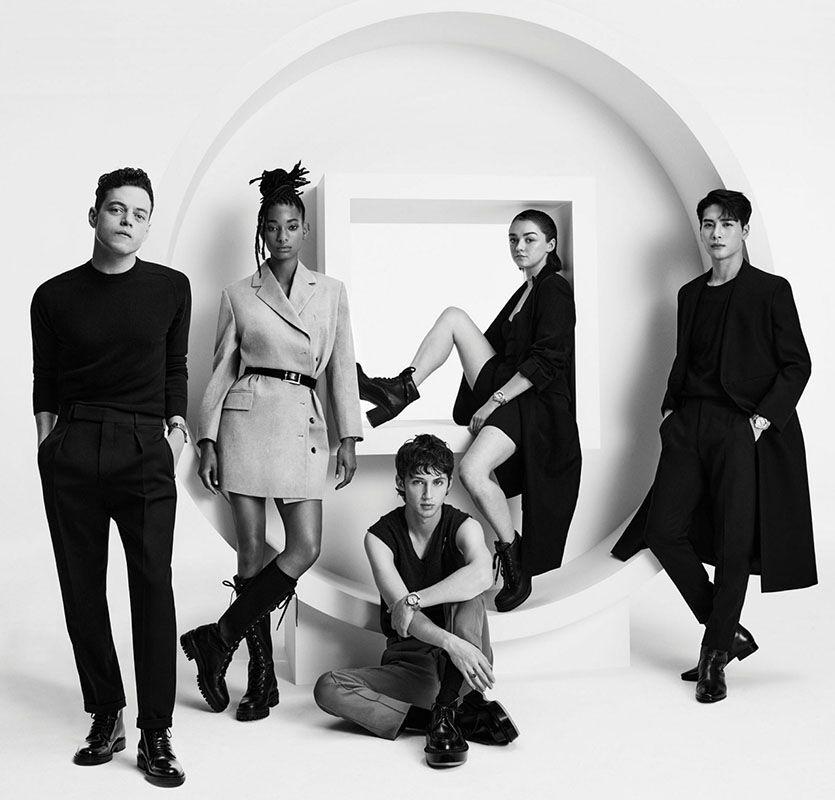 Rami Malek, Willow Smith, Troye Sivan, Maisie Williams et Jackson Wang, nouveaux ambassadeurs de la Pasha de Cartier, version 2020.