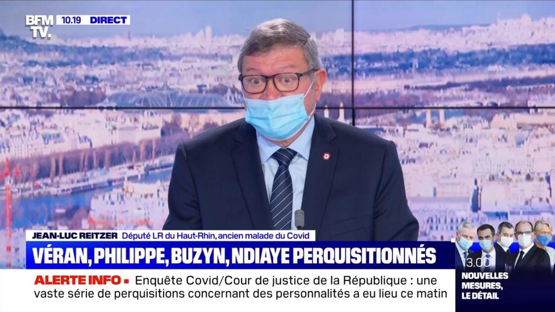 Jean-Luc Reitzer, député LR du Haut-Rhin, sur BFM TV, ce 15 octobre 2020.