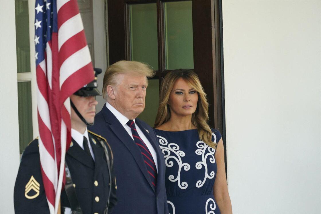 Donald et Melania Trump le 15 septembre 2020