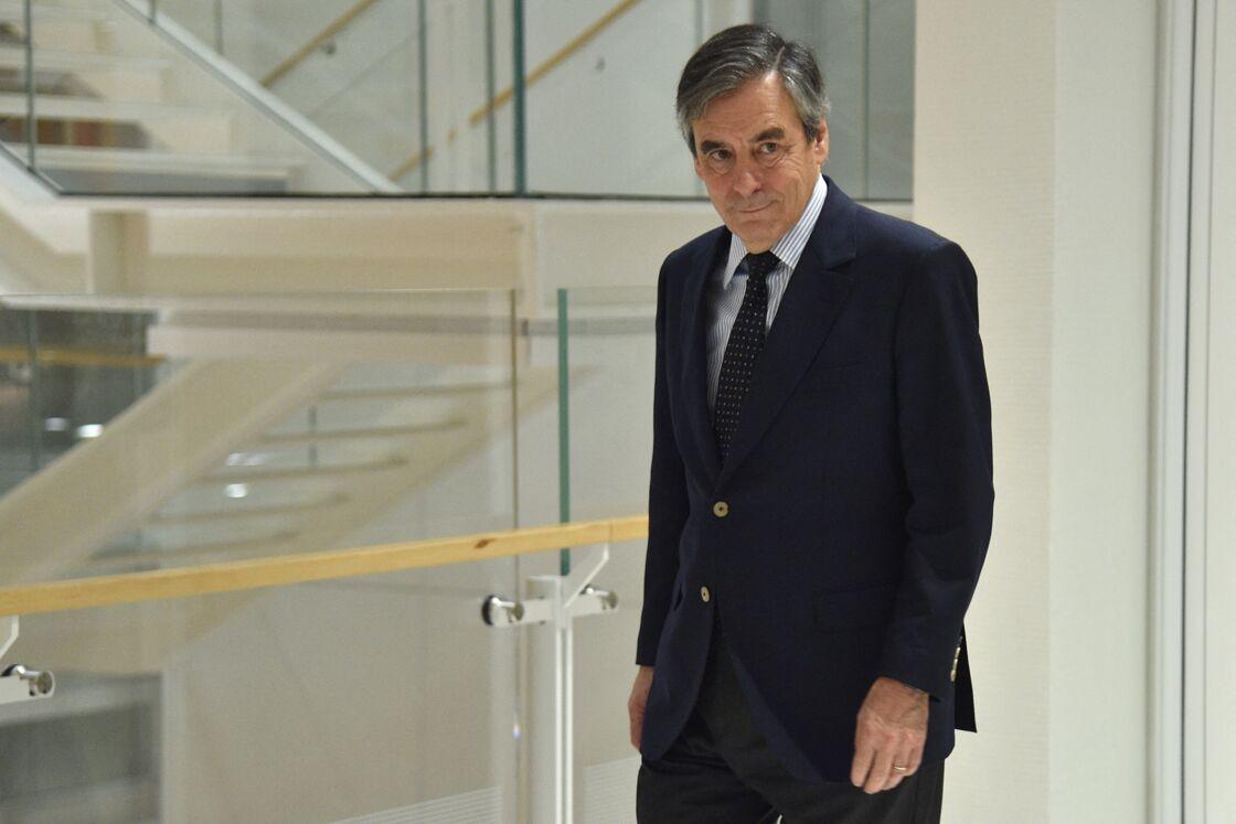 L'ancien premier ministre François Fillon à la sortie du tribunal de Paris le 4 mars 2020.