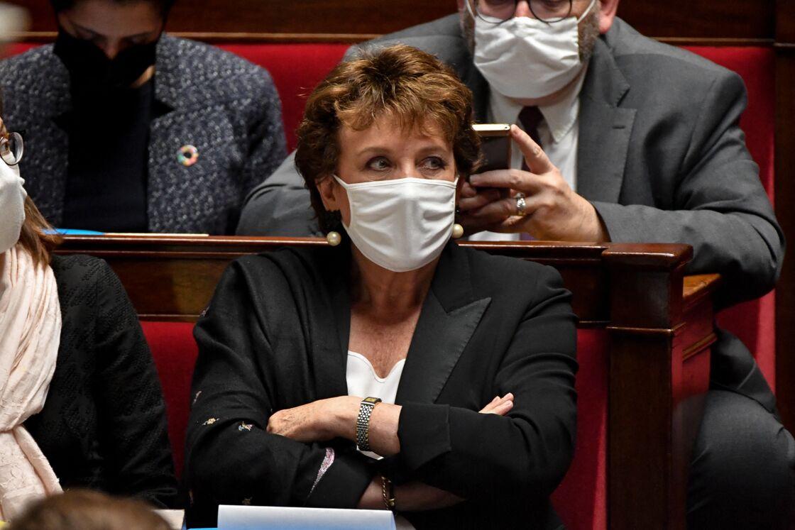 Roselyne Bachelot - Séance des Questions au gouvernement à l'Assemblée nationale à Paris. Le 29 septembre 2020