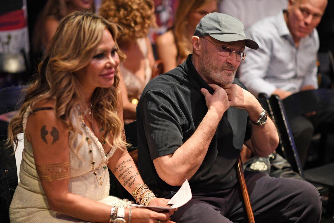 Orianne Cevey et Phil Collins