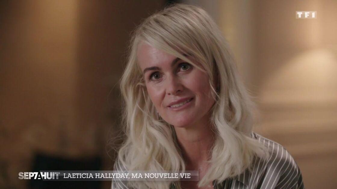 Laeticia Hallyday dans Sept à Huit ce dimanche 18 octobre 2020