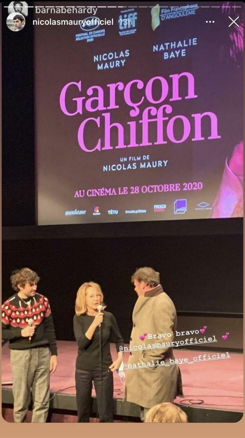 C'est en pleine forme que Nathalie Baye est apparue à la Cinémathèque ce 19 octobre pour l'avant-première de Garçon chiffon, huit mois après ses soucis de santé