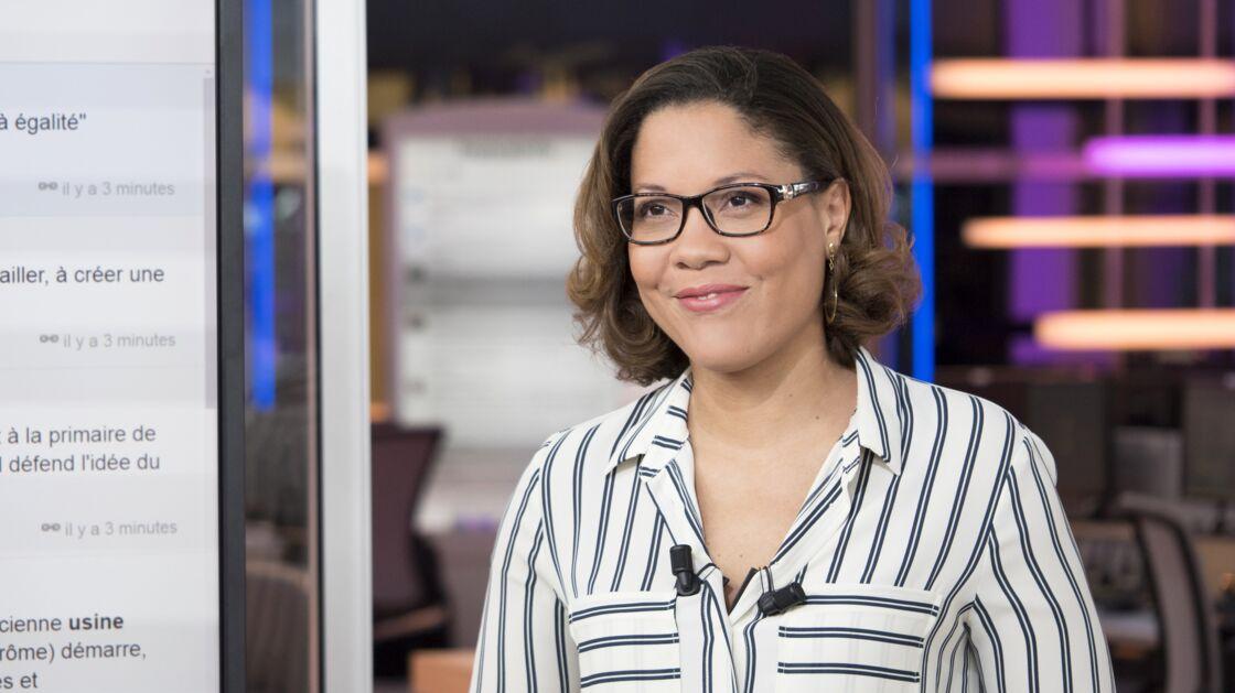 Pour la matinale de France Info, Karine Baste-Régis se lève toutes les nuits à 2h30. Qu'à cela ne tienne, cette place lui plaît.