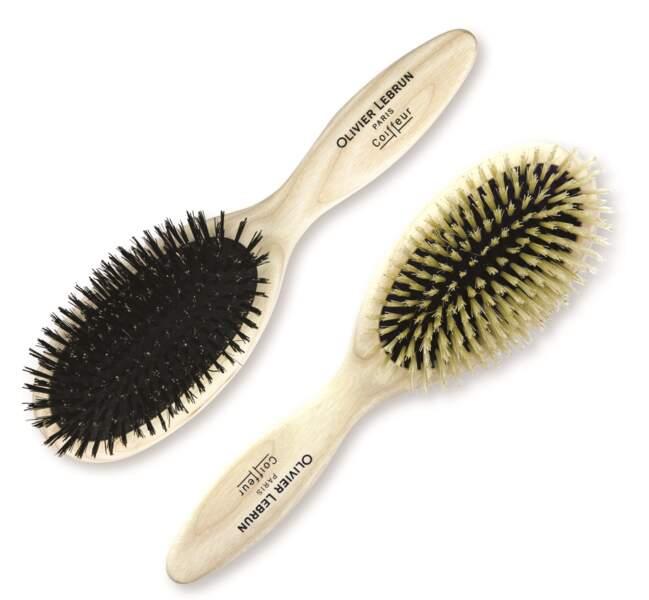 Brosses de pro pour cheveux fins ou épais, Olivier Lebrun Coiffeur, 95€