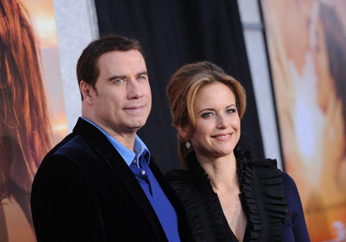John Travolta et sa femme Kelly Preston décédée en juillet dernier