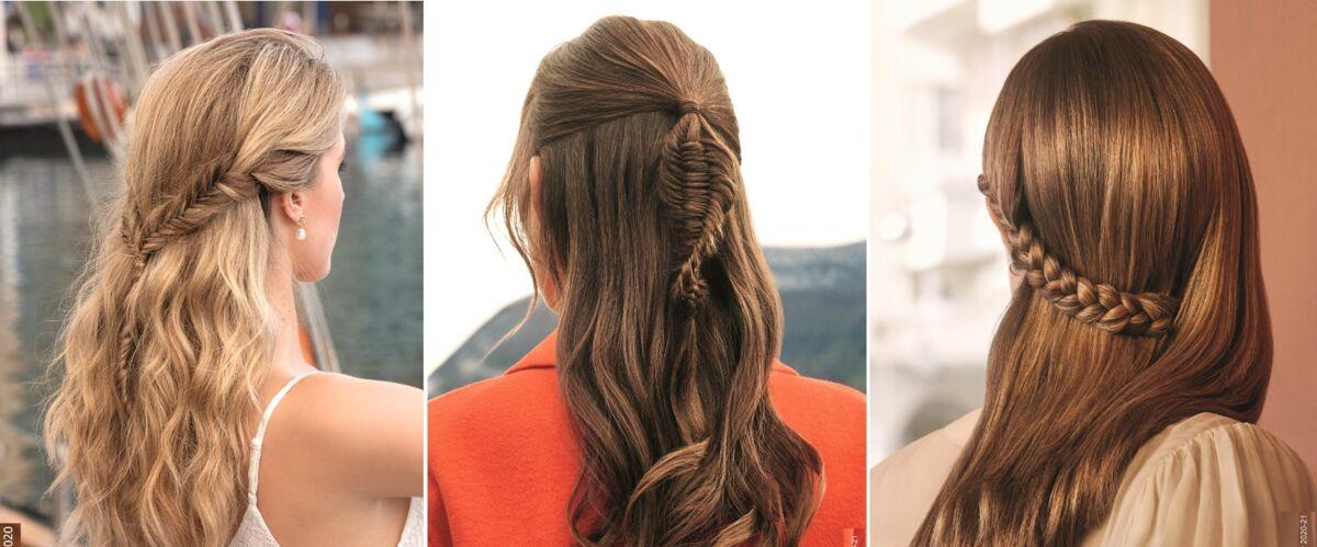 photos – les plus belles coiffures pour cheveux longs - gala