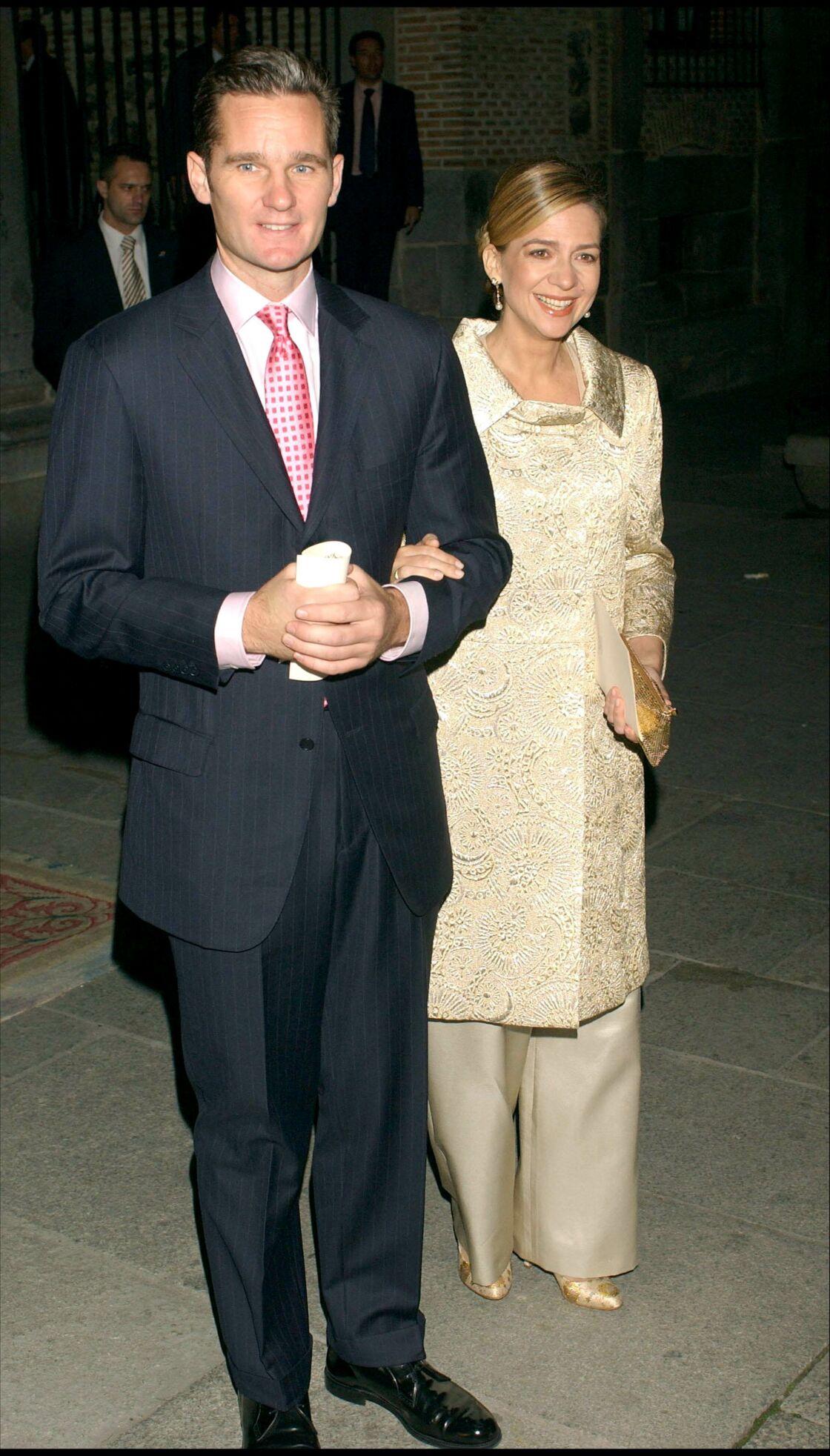 L'infante Cristina et son époux Iñaki Urdangarin