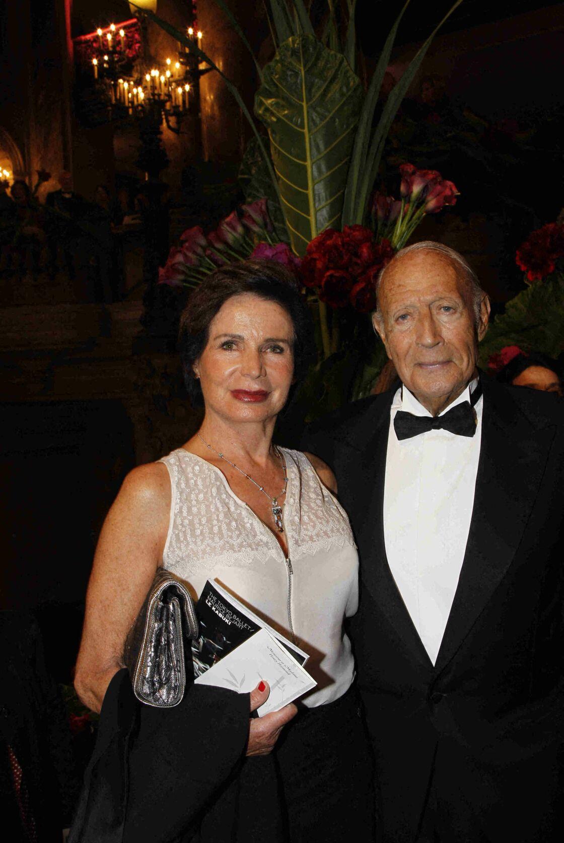 Henry Hermand et sa femme