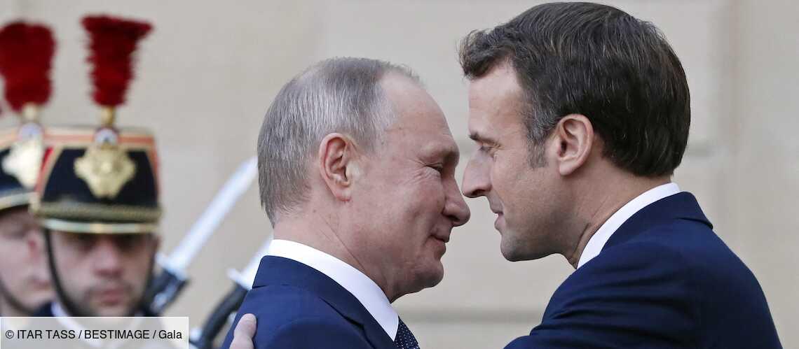 """Covid 19 – Emmanuel Macron perplexe et direct avec Poutine : « Tu l'as pris, toi, ton fameux vaccin?"""" - Gala"""