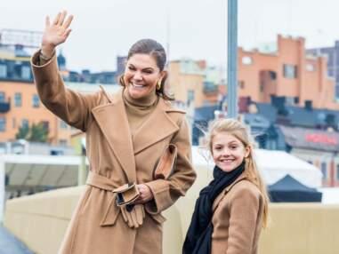 PHOTOS : Victoria de Suède radieuse et fière aux côtés de son mini-moi, la princesse Estelle