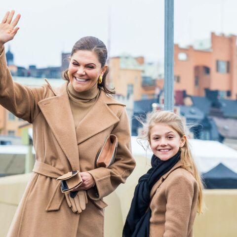 PHOTOS: Victoria de Suède radieuse et fière aux côtés de son mini-moi, la princesse Estelle