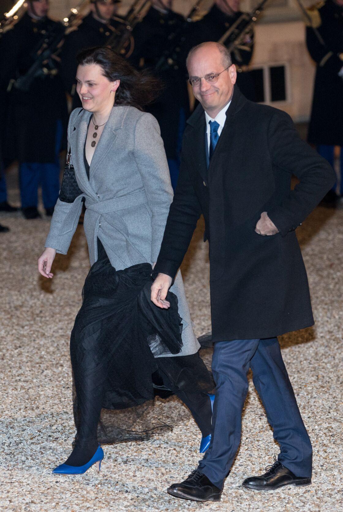 Jean-Michel Blanquer et Aurélia Devos