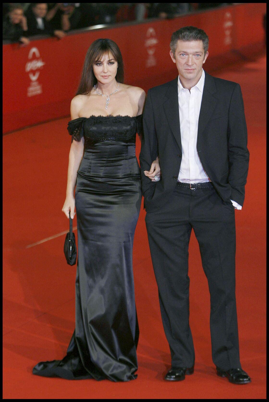 Monica Bellucci et Vincent Cassel, complices à l'avant-première du film