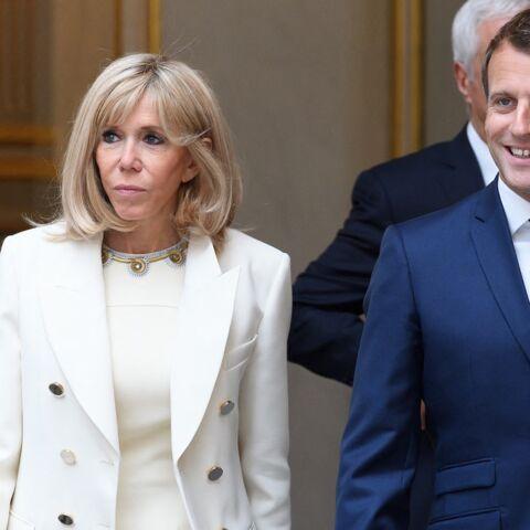 Brigitte et Emmanuel Macron offrent un coup de jeune au salon du Conseil des ministres