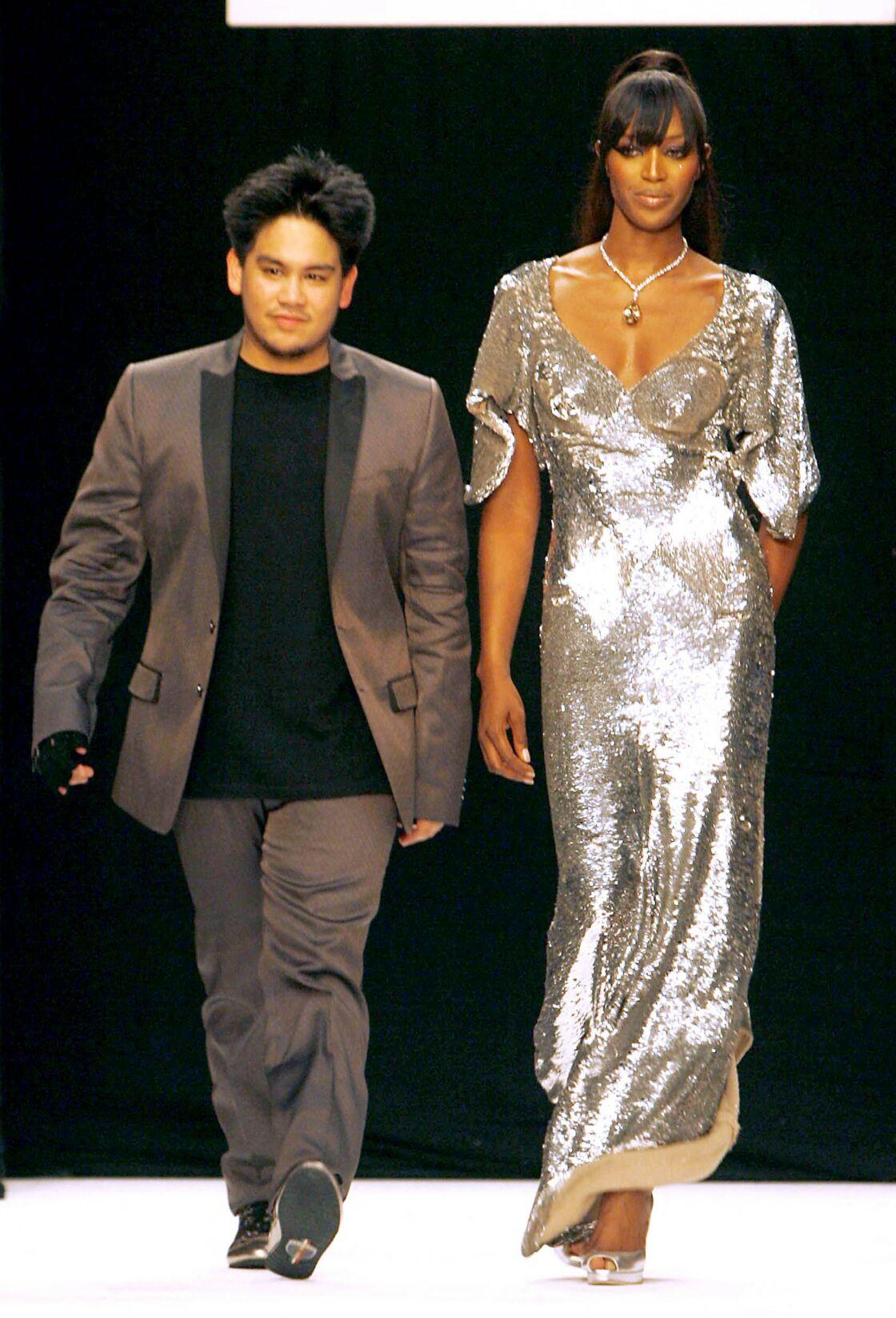 Le prince Azim et Naomi Campbell