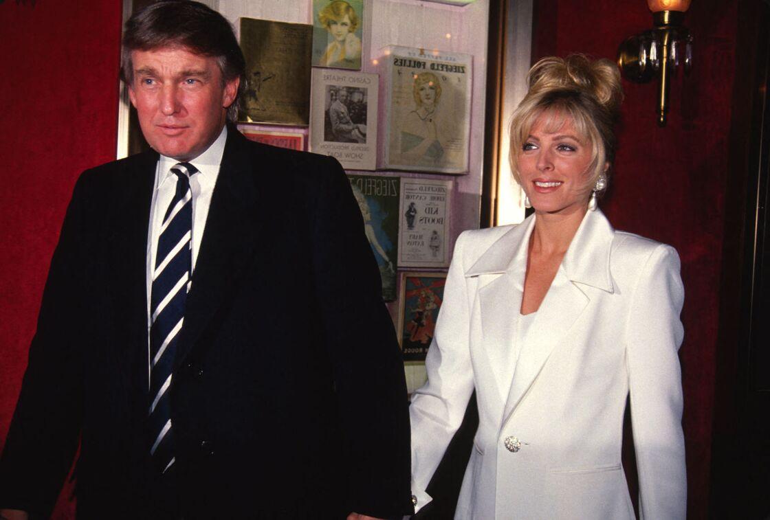 Donald Trump et son ex-femme Marla Maples