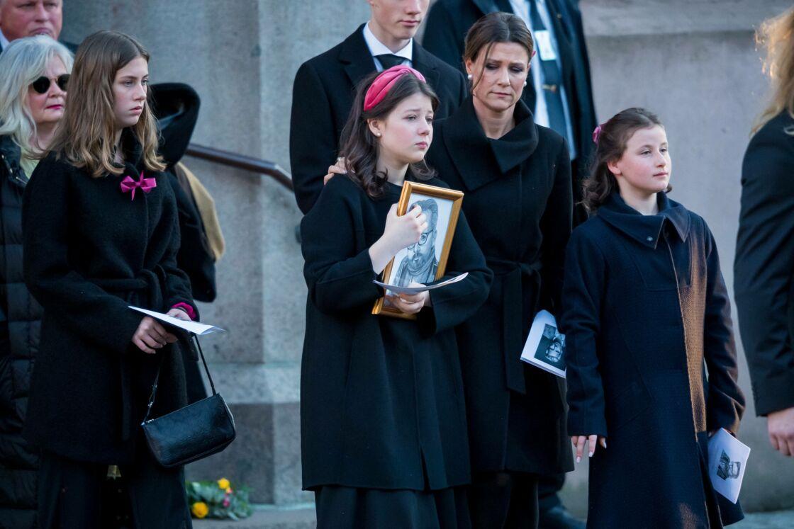 Martha-Louise de Norvège et ses filles