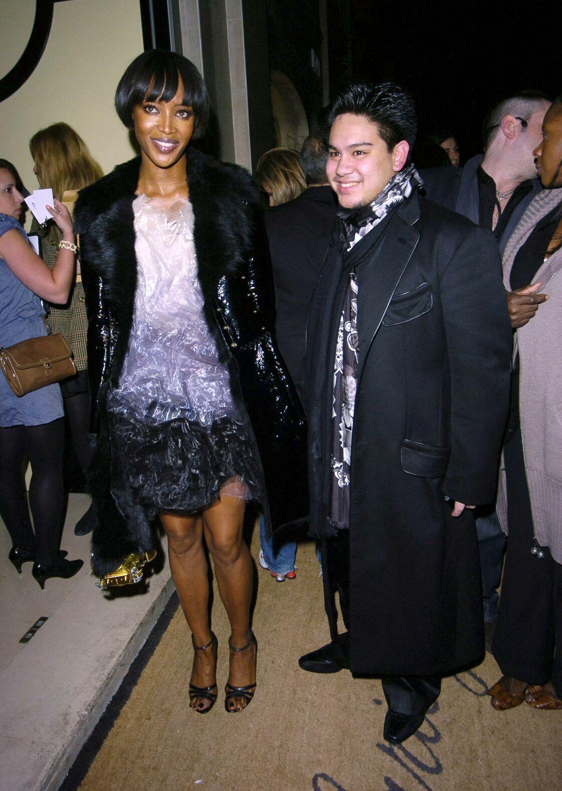Le prince Azim et Naomi Campbell, en 2008.