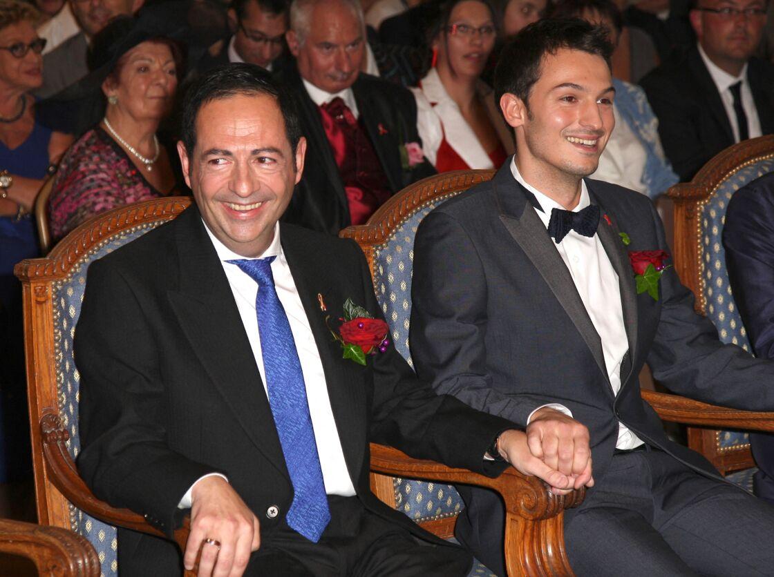 Jean-Luc Romero et Christophe Michel