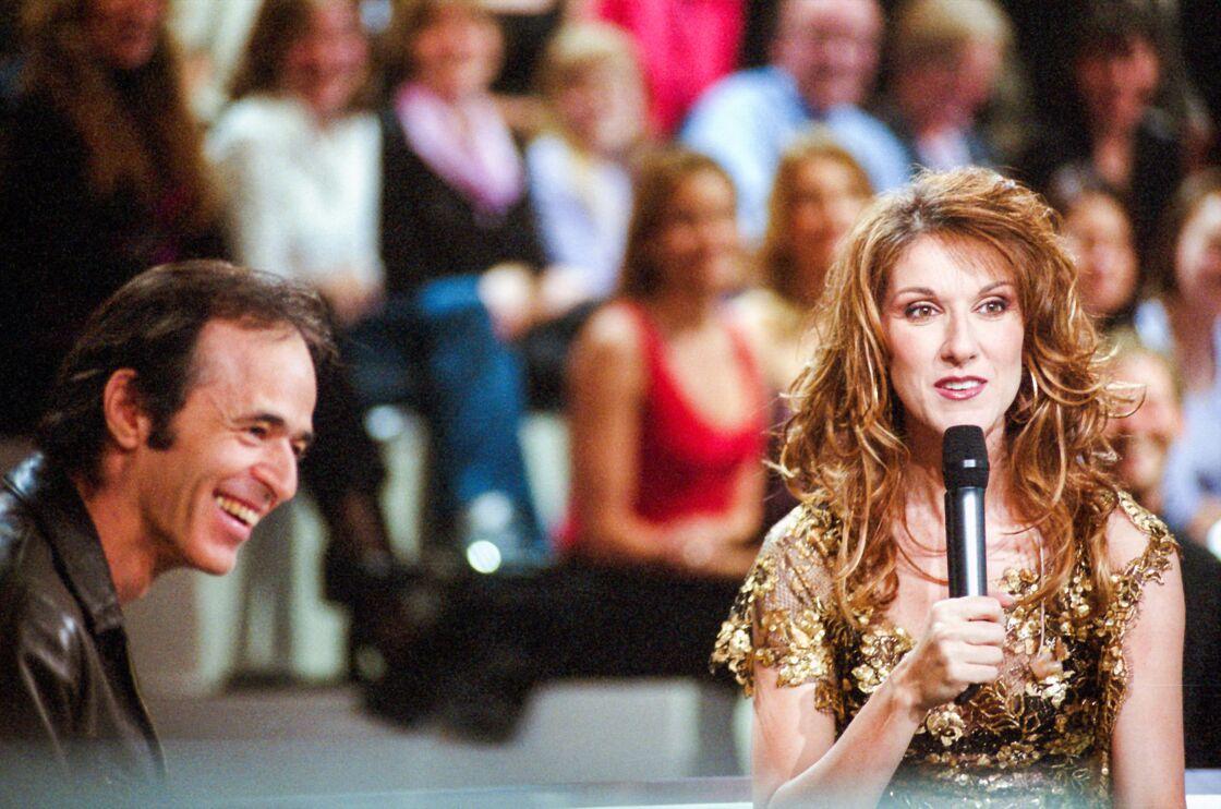 Jean-Jacques Goldman et Céline Dion le 13 mars 2002