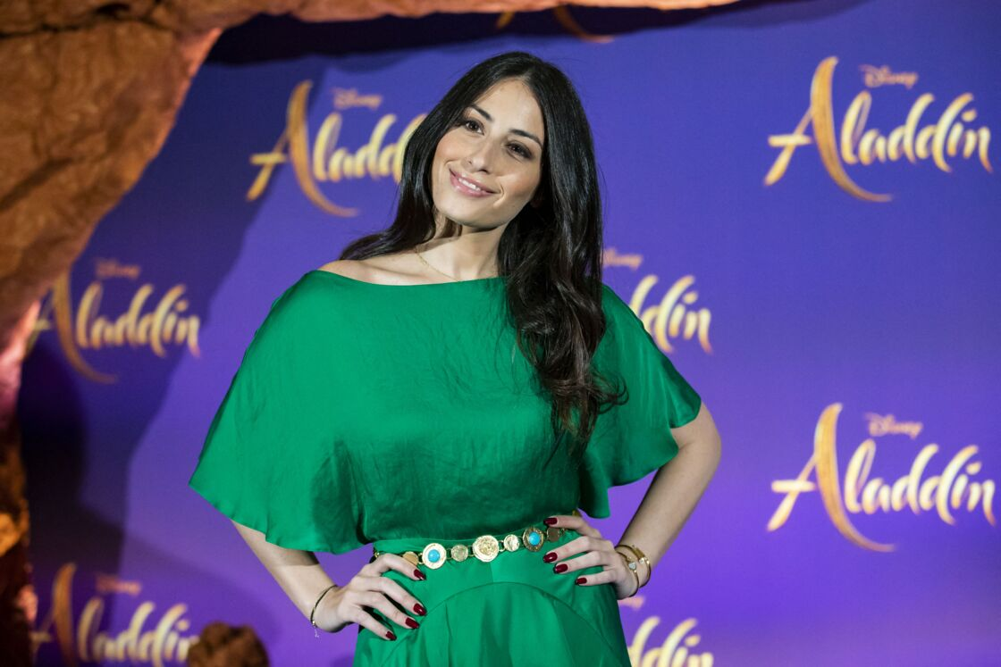 Hiba Tawaji, à l'avant-première du film Aladdin, le 8 mai 2019.
