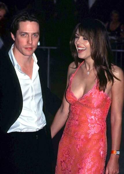 Hugh Grant et Elizabeth Hurley
