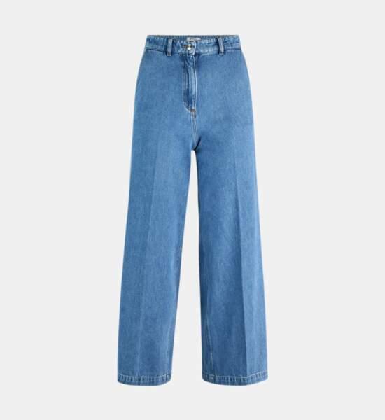 Jean large 7-8 coton, 59,99€, Galeries Lafayette