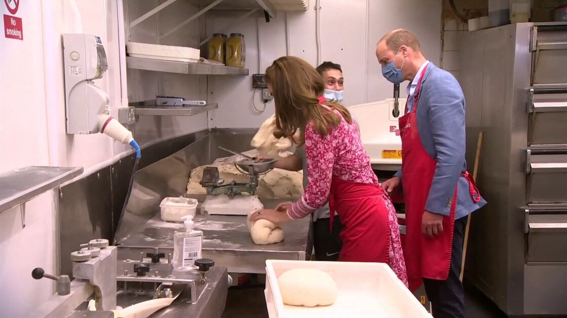 Kate Middleton et le prince William derrière les fourneaux