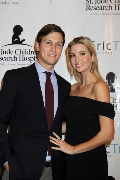 """""""Meilleurs amis"""", Ivanka Trump et son époux Jared Kushner sont inséparables"""