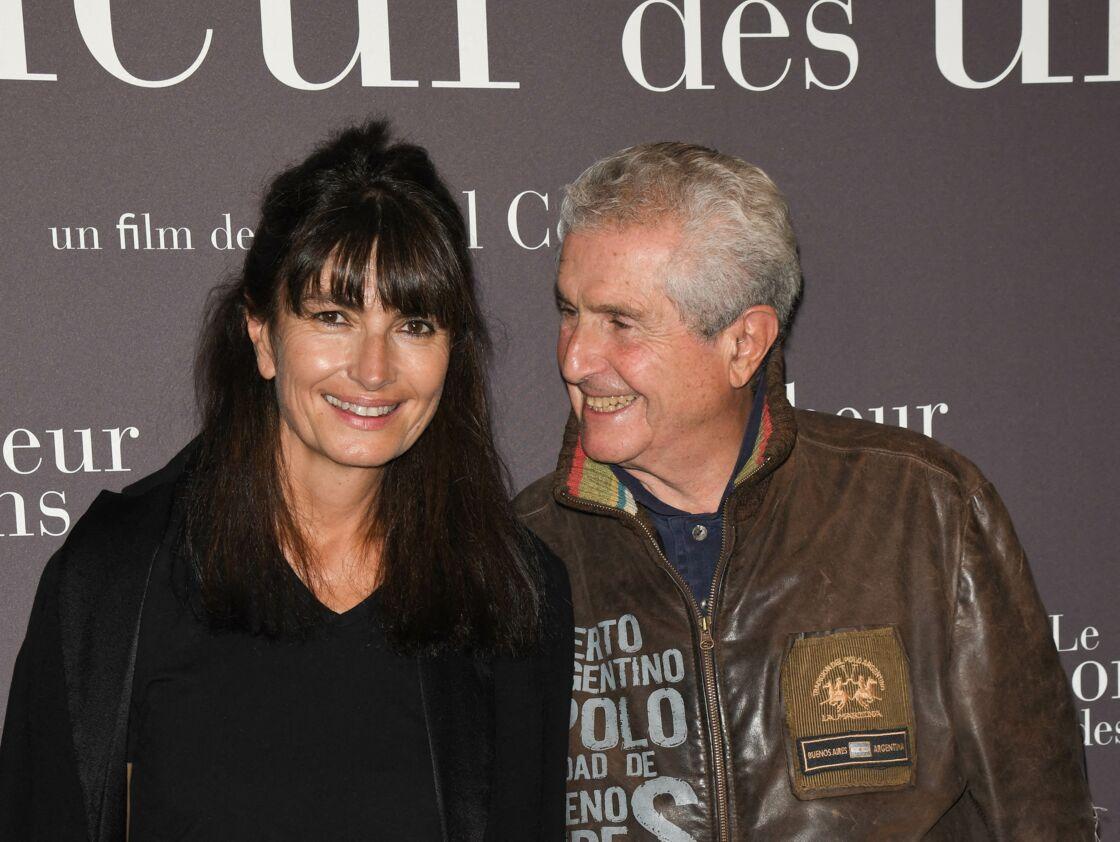Claude Lelouch avec sa nouvelle compagne Valérie Perrin