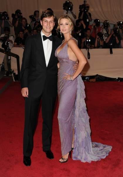 La fille chérie de Donald Trump et son gendre, Jared Kushner, font sensation sur le tapis rouge