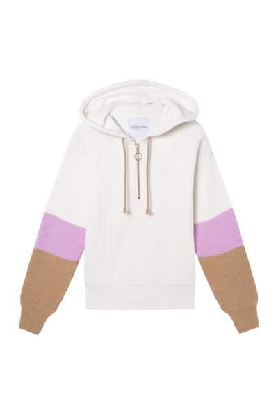Sweat hoodie, 270€, Valentine Witmeur