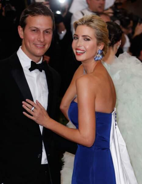 Ivanka Trump et son conjoint, Jared Kushner, glamours sur le tapis rouge