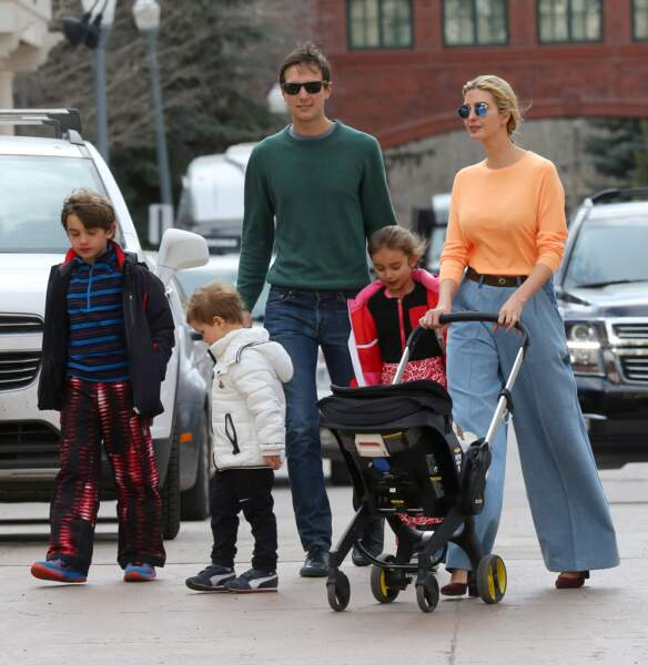 Très famille, Ivanka Trump et Jared Kushner souhaitent faire passer leurs trois enfants avant la Maison Blanche