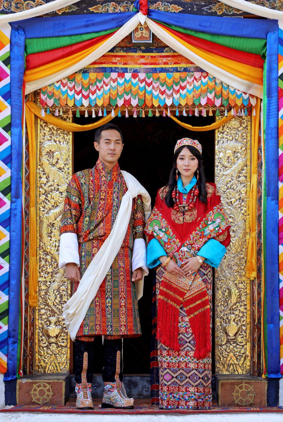 Mariage de la princesse Eeuphelma Choden Wangchuck et Dasho Thinlay Norbu.