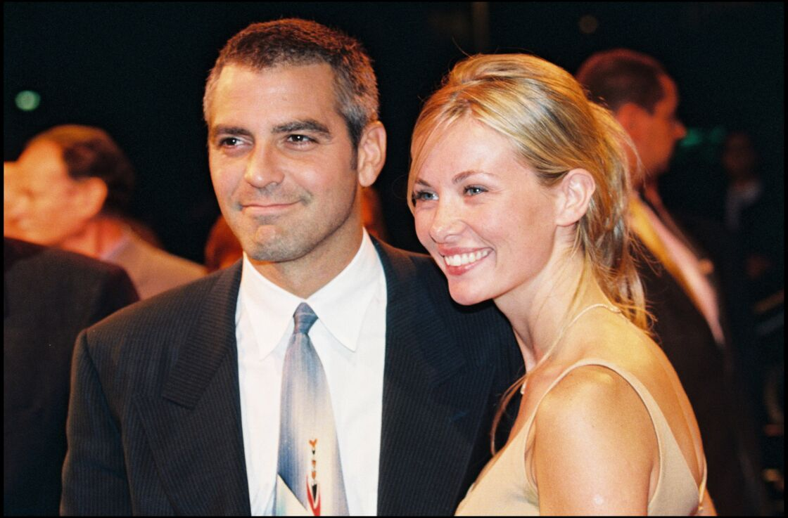 George Clooney et Céline Balitran