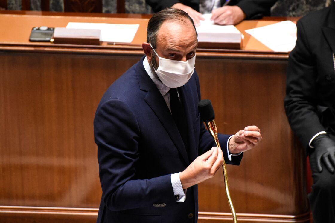 Édouard Philippe lors des questions au gouvernement le 23 juin 2020