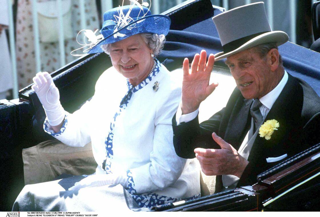 Elizabeth II et le prince Philipp