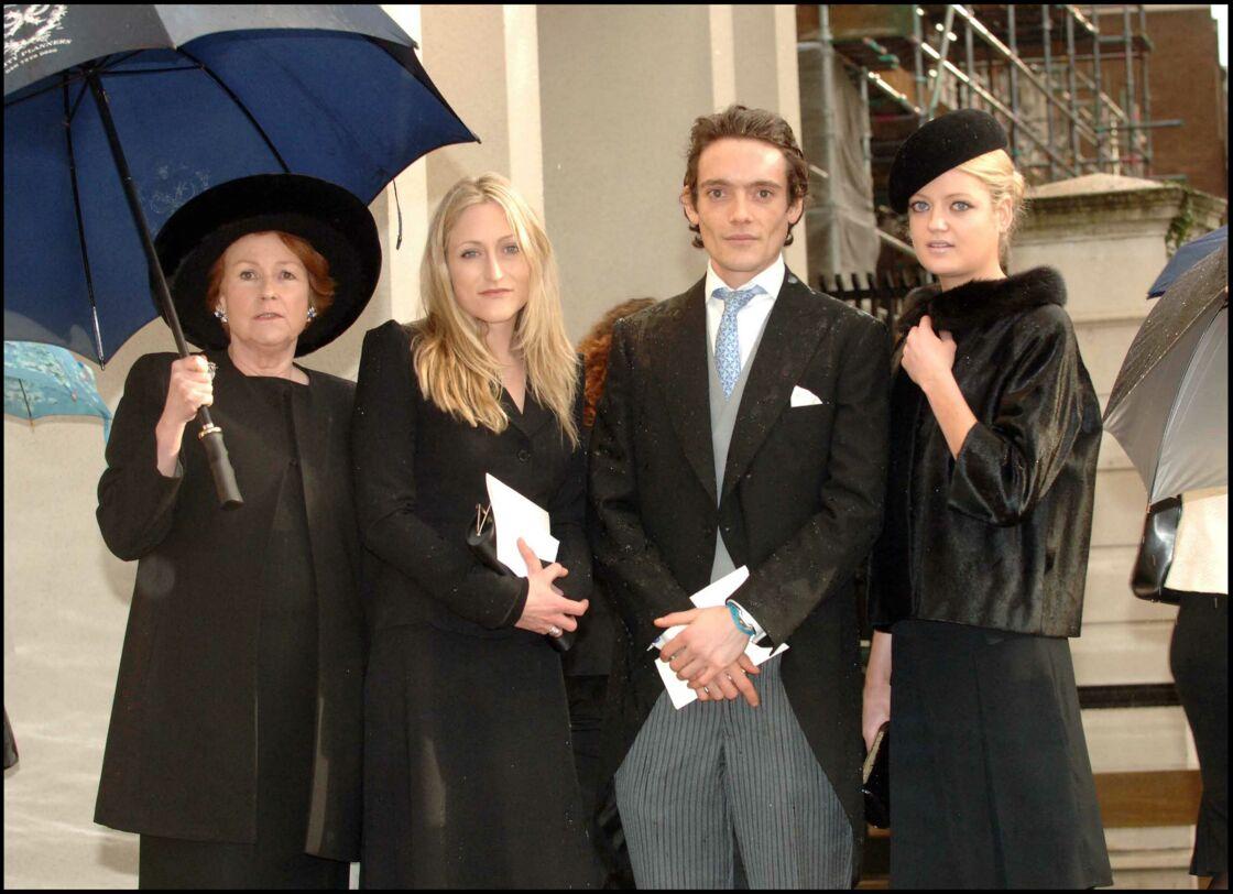 Elizabeth Anson et ses trois enfants